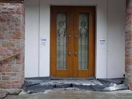 Elegáns üveges ajtók